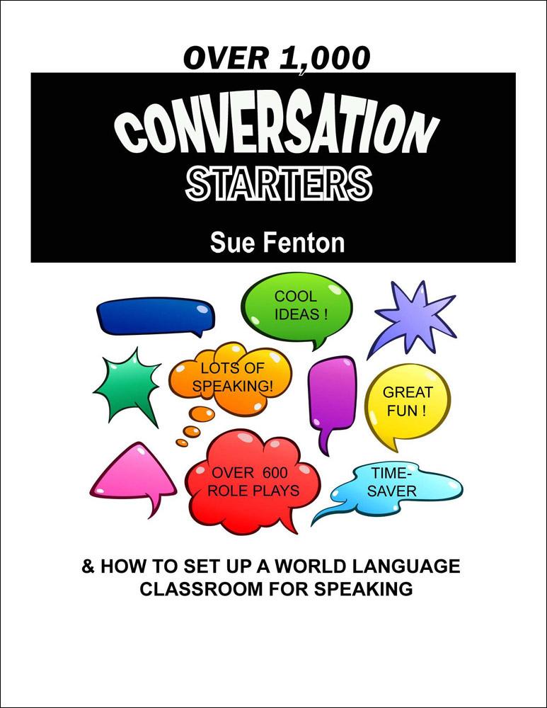 1000 Conversation Starters Book
