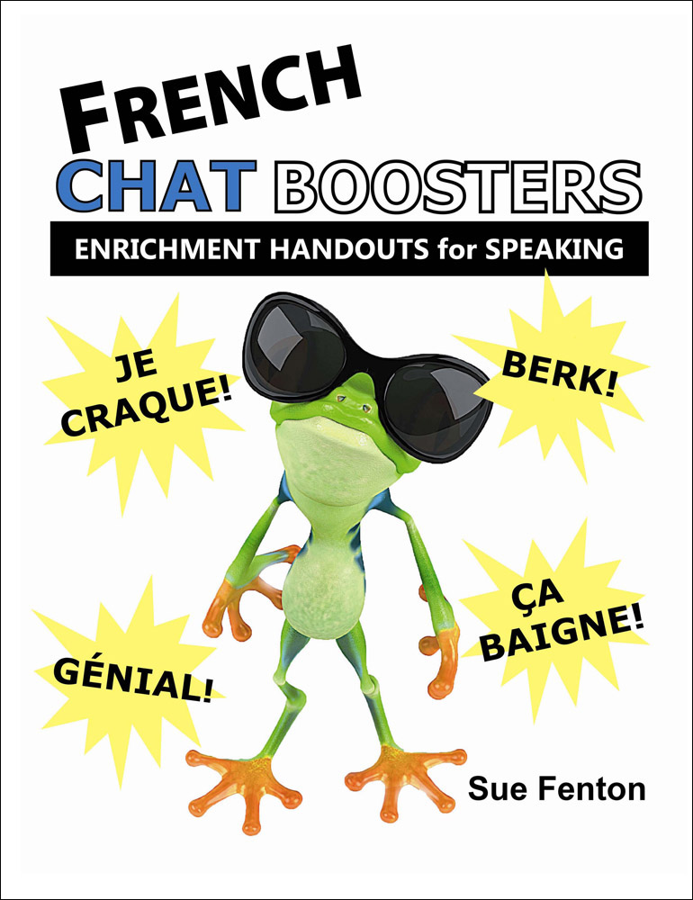 Chat Boosters French Book