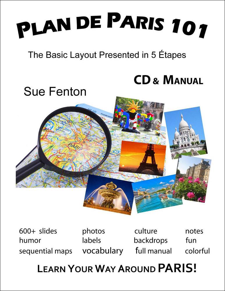 Plan de Paris 101 CD & Manual