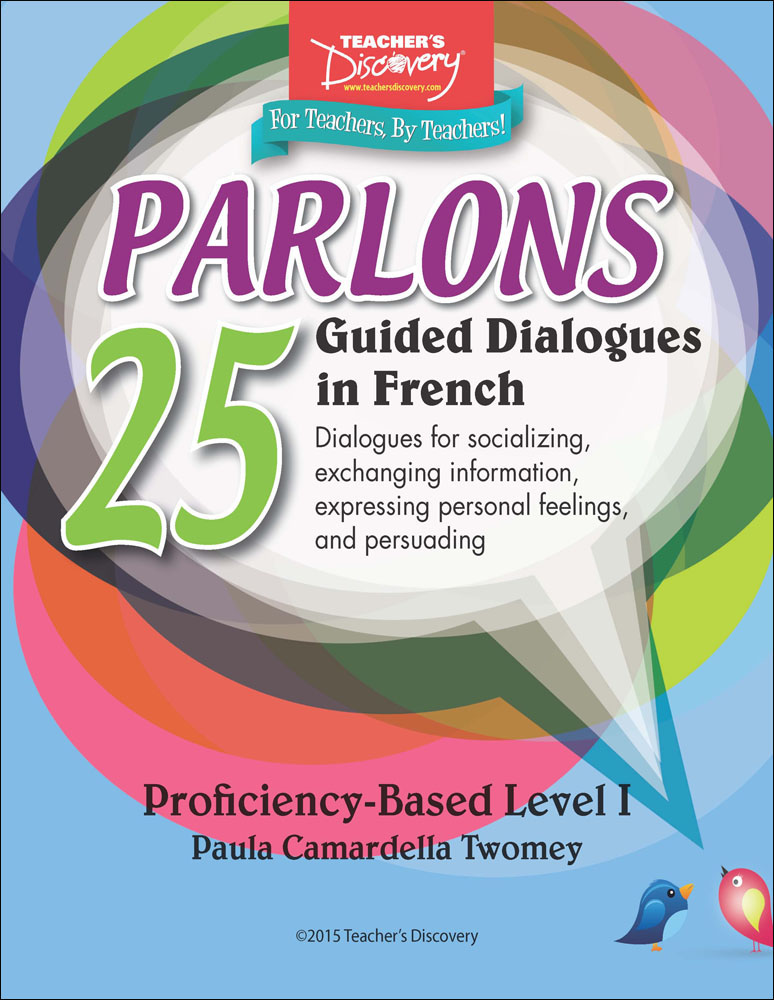 Parlons French Dialogues Binder