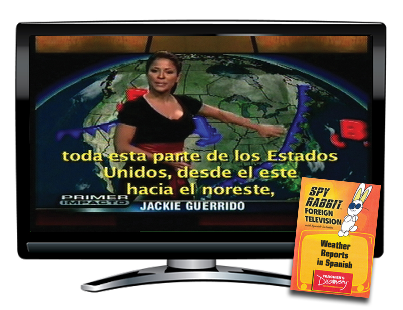 Weather Reporting in Spanish Spy Rabbit DVD Download