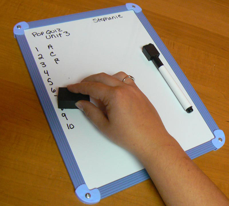 Magnetic Student Dry-Erase Whiteboards