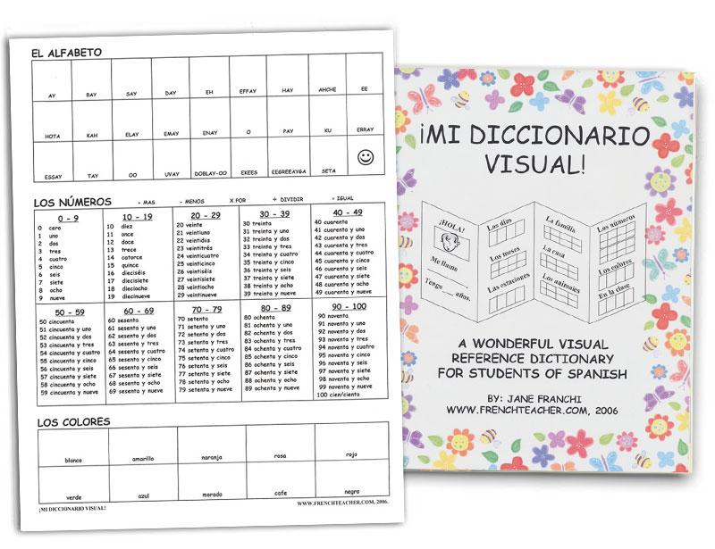 Mi Diccionario Visual! Activity Packet