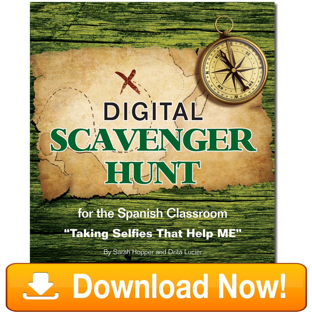 Spanish Digital Scavenger Hunt Book Download
