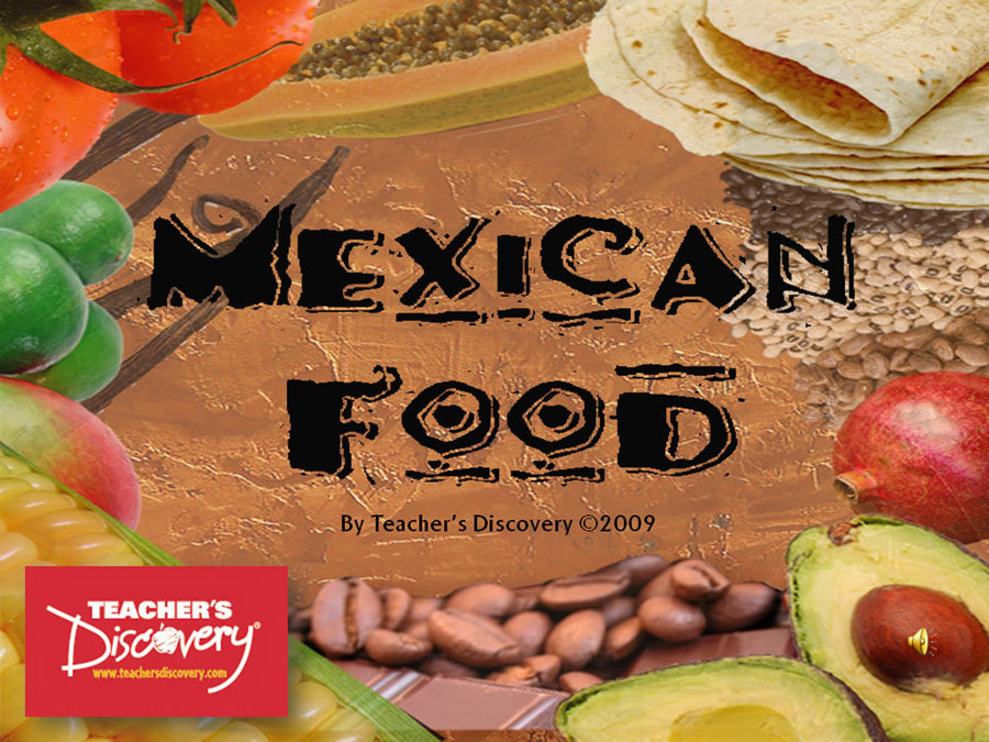 Mexican Food Spanish Lesson Presentation Download