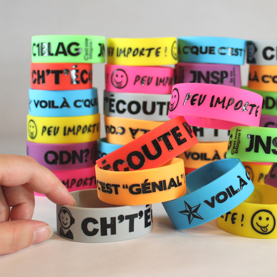 Big Bold French Wristbands
