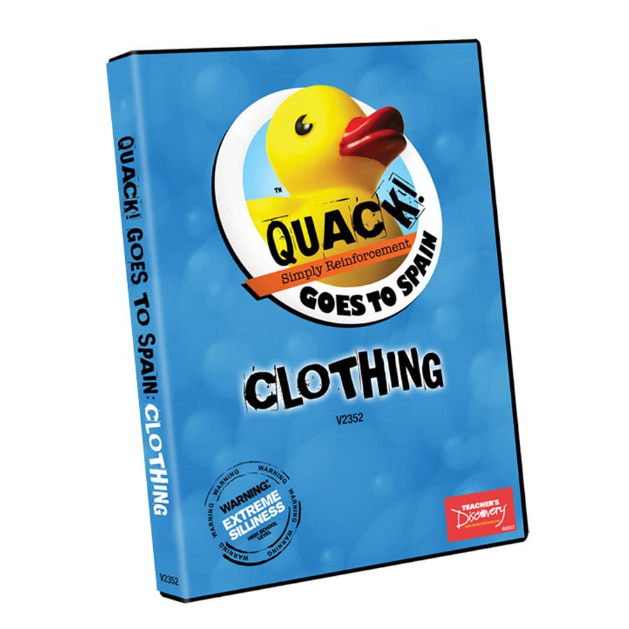 QUACK! Vocab Spain: Clothing DVD