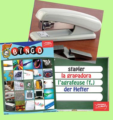 Classroom Nouns Bingo & Flashcards (2010)