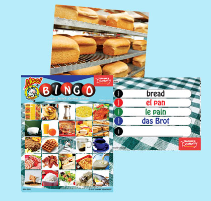 Food Bingo & Flashcards (2010)
