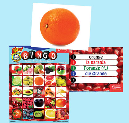 Fruit Bingo & Flashcards (2010)