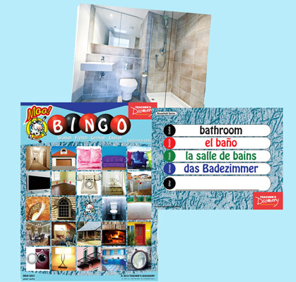 Household Bingo & Flashcards (2010)
