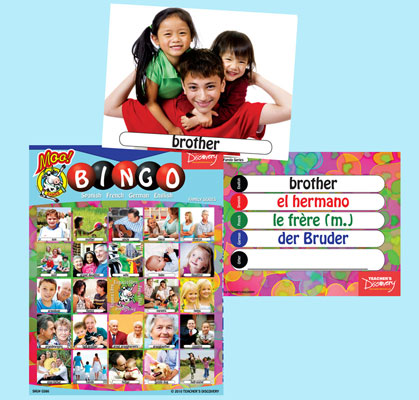 Family Bingo & Flashcards (2010)