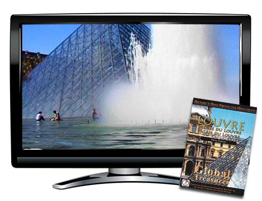 Global Treasures™ Musee du Louvre DVD