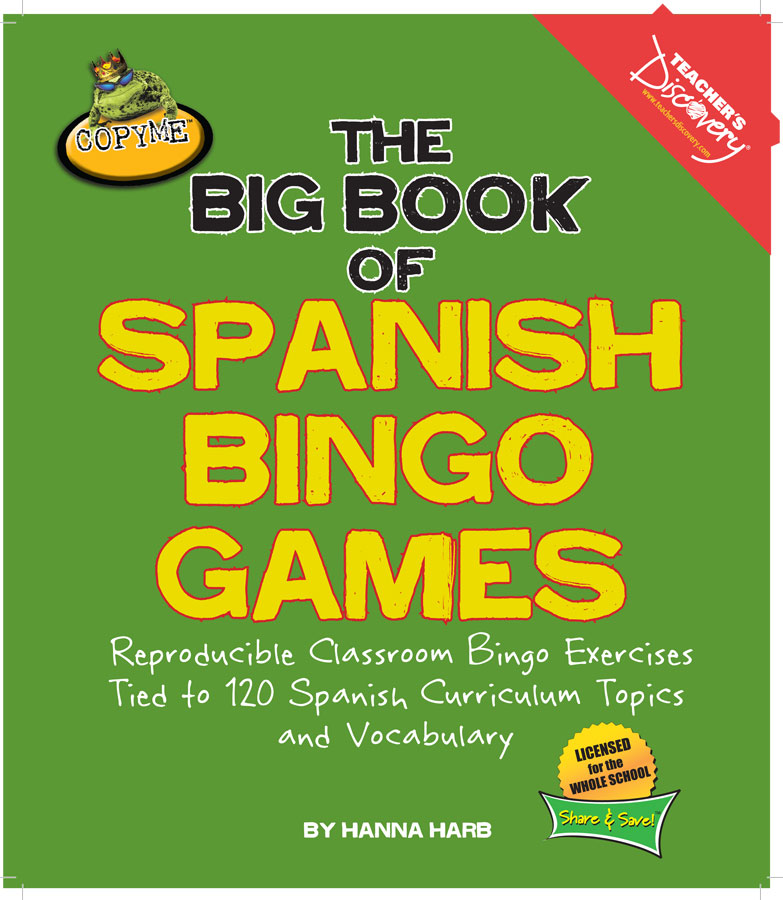 The Big Book of Spanish Bingo Games Download