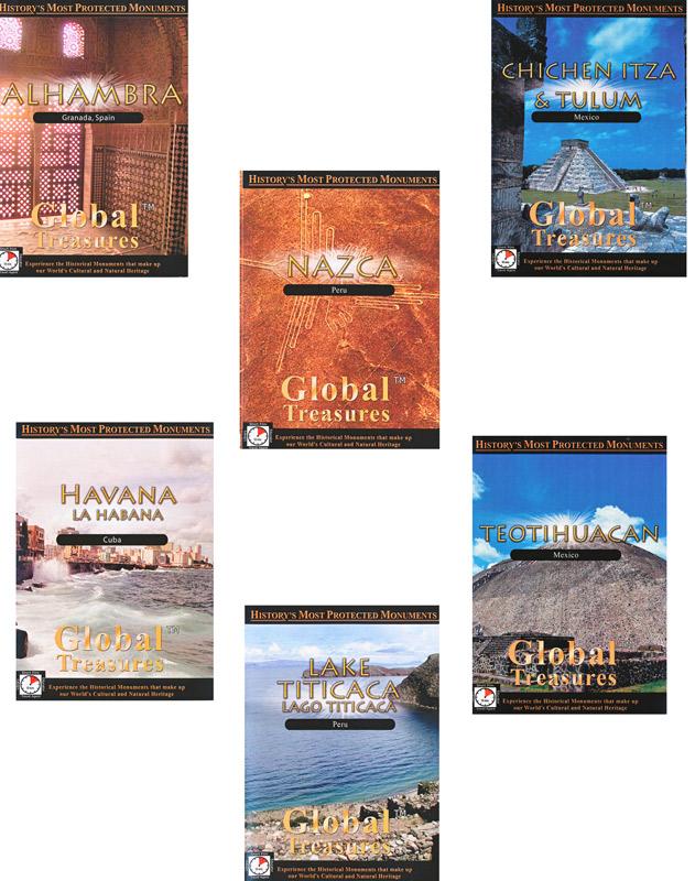Global Treasures Spanish Set of 6 Video Downloads