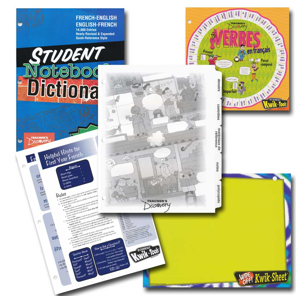 French Student Starter Tools