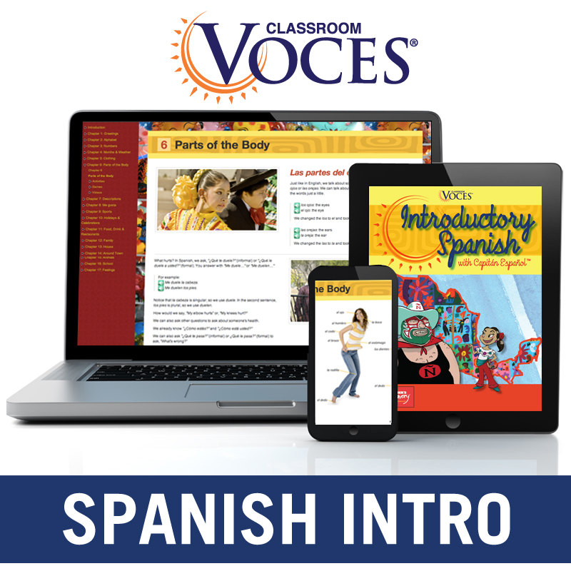 Voces® Introductory Spanish Digital Courseware