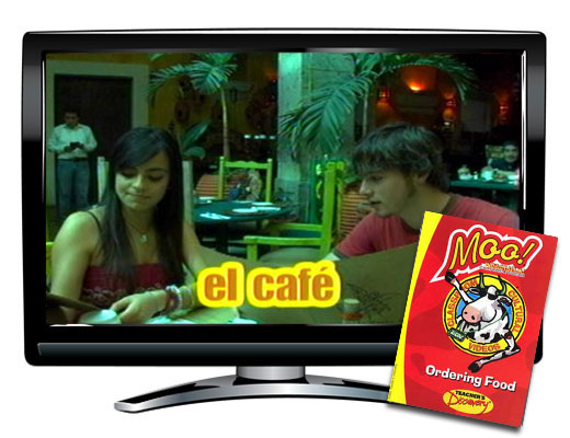 Ordering Food Vocabulary Spanish DVD Download