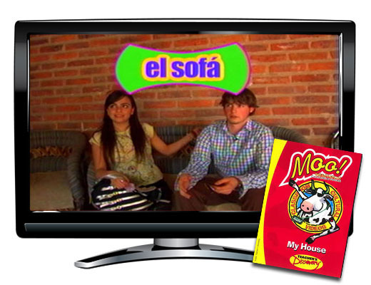 My House Vocabulary Spanish DVD Download