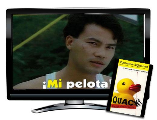 Possessive Adjective Spanish DVD