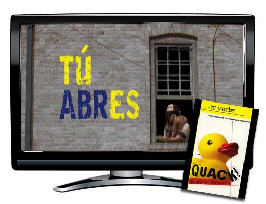 IR Verbs Spanish DVD Download