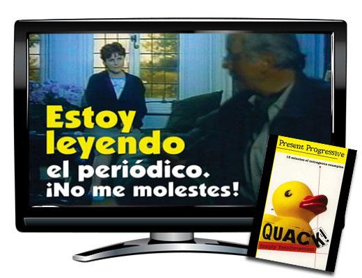 Present Progressive Spanish DVD Download