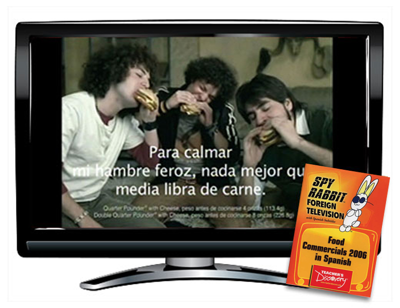 Food Commercials 2006 Spanish DVD Download