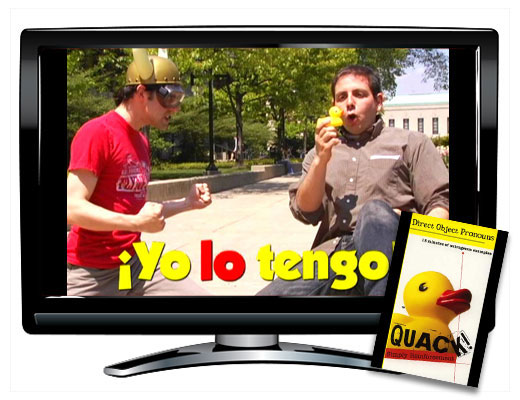 Direct Object Pronouns Spanish QUACK! DVD Download