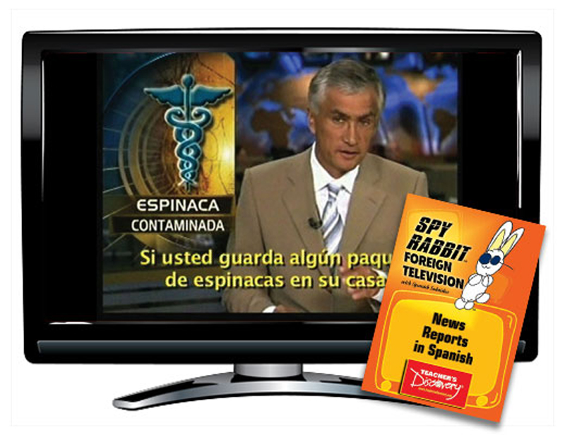 News Reports in Spanish Spy Rabbit DVD Download