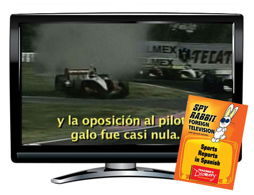 Sports Reports in Spanish Spy Rabbit DVD Download