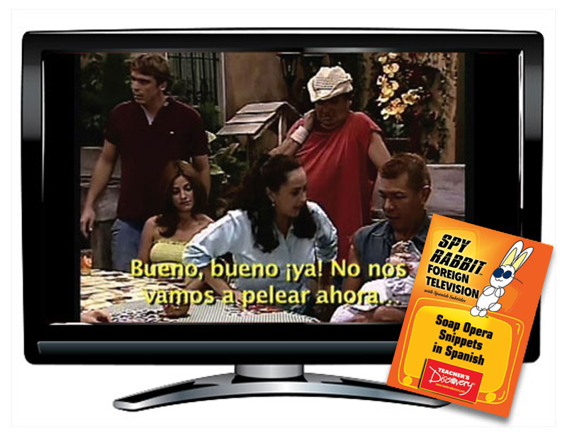Soap Opera Snippets in Spanish Spy Rabbit DVD Download
