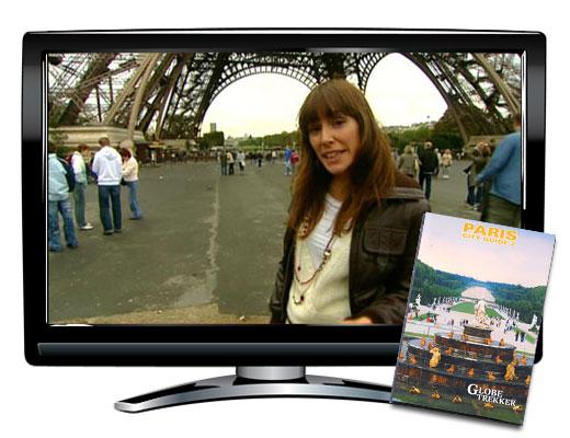 Paris City Guide 2 Globe Trekker DVD