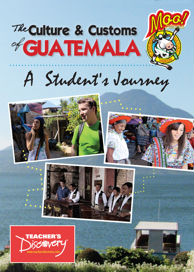 Culture and Customs of Guatemala Spanish DVD