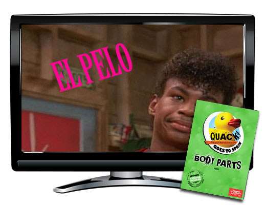 QUACK! Vocab Spain: Body Parts DVD