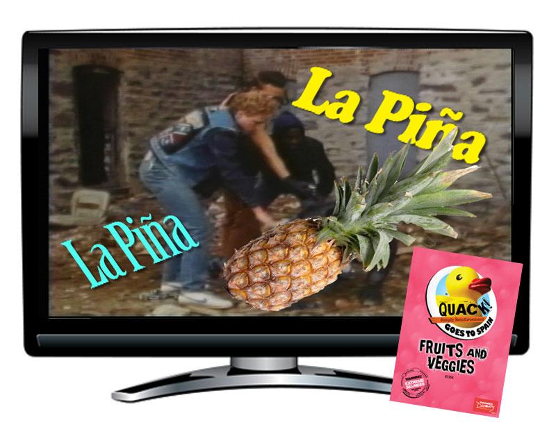 QUACK! Vocab Spain: Fruits and Veggies DVD
