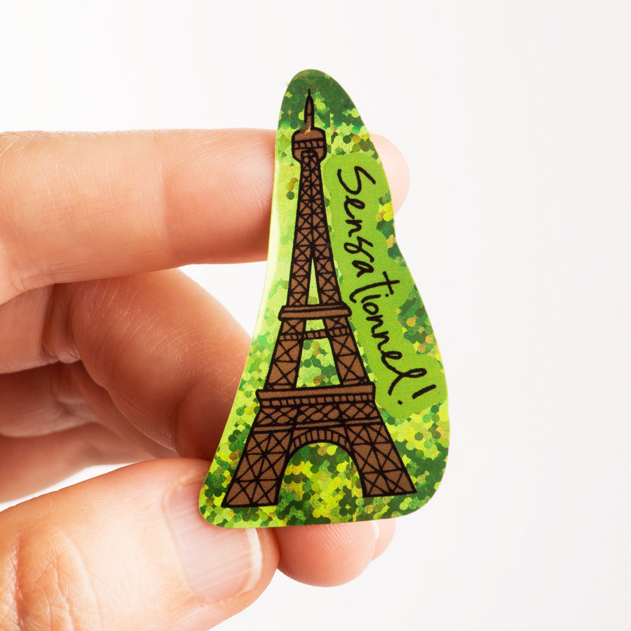 Monuments French Stickers (100)