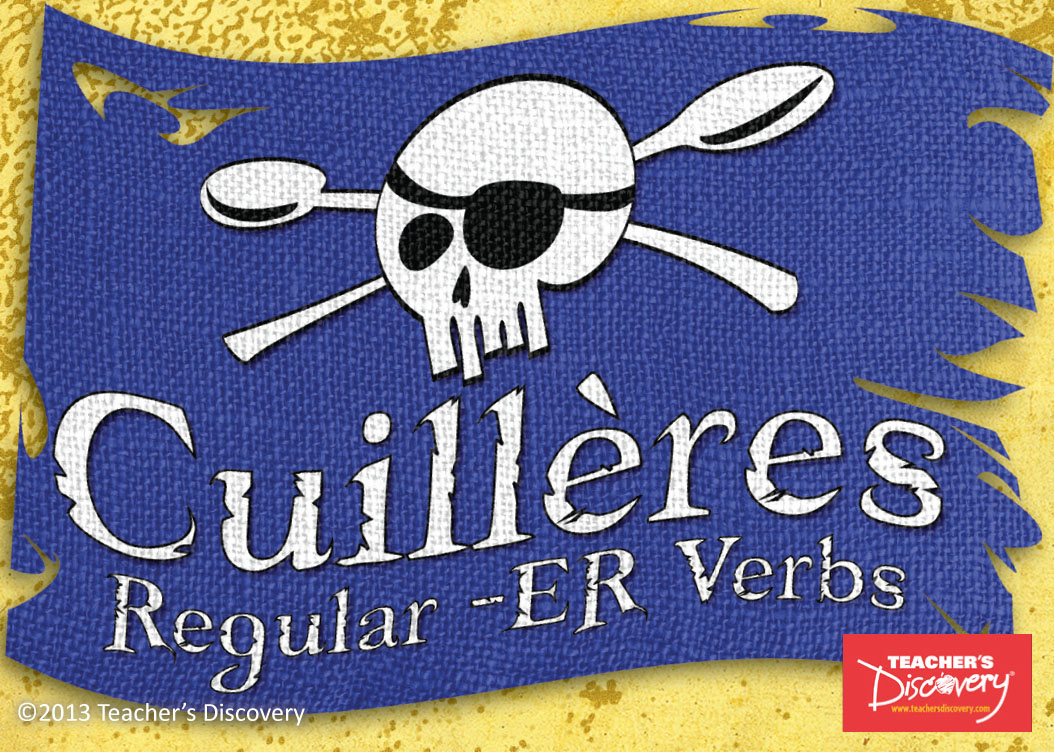 Cuilleres -ER French Verb Game