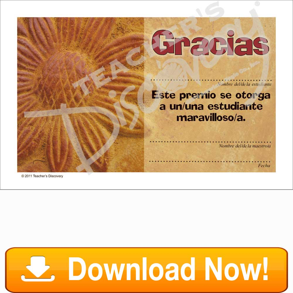 "Pottery of Peru ""Gracias"" Certificate Download"