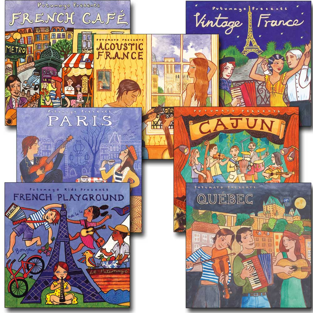 Putumayo French Set of 7 CDs