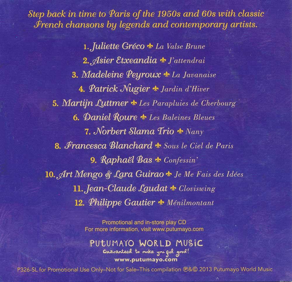 Putumayo French Set of 7 CDs, Music: Teacher's Discovery