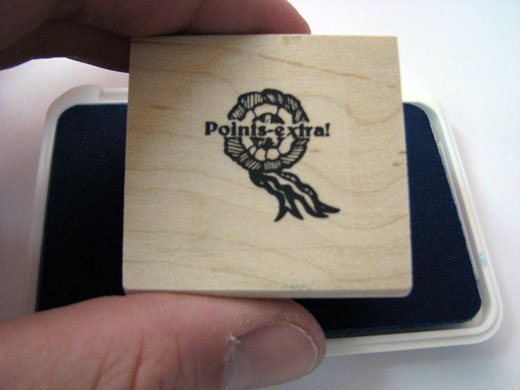 Points Extra French Stamper