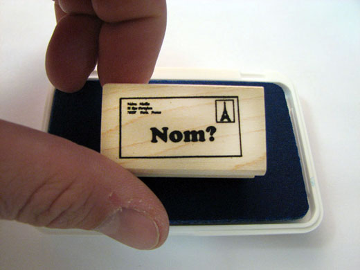 Nom French Stamper