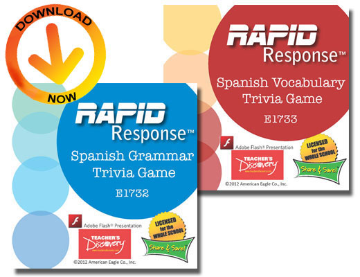 Rapid Response Set of 2 Trivia Games Download