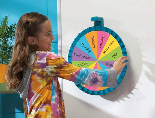 Magnetic Spin Wheel