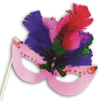 Mardi Gras Mask Kit