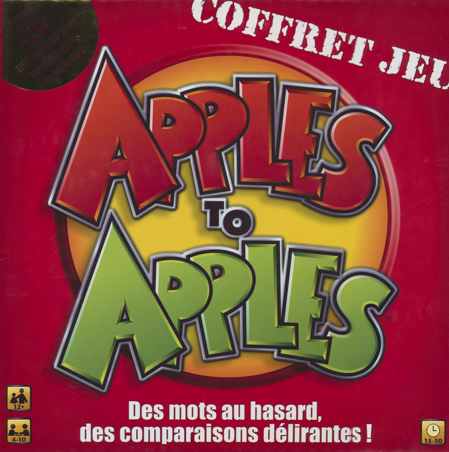 Apples to Apples French Game