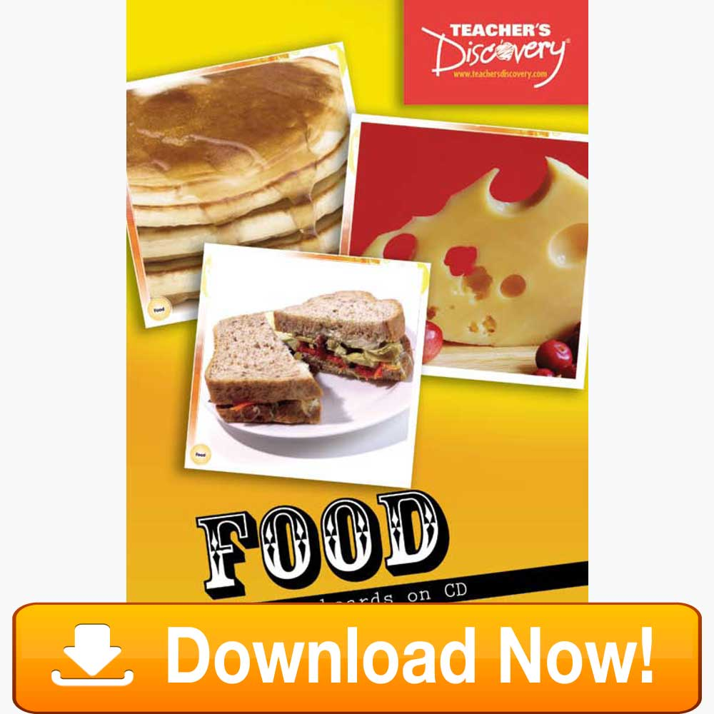 Food Flash Cards Download