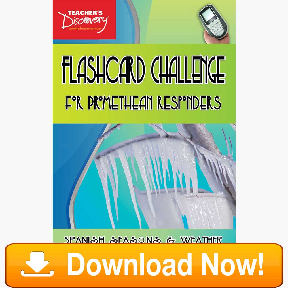 Spanish Digital Flashcard Challenge Promethean Weather Download
