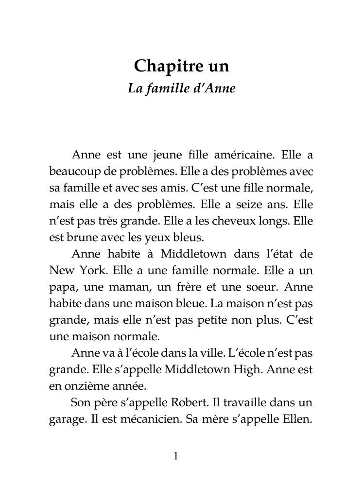 pauvre anne chapter 2 summary