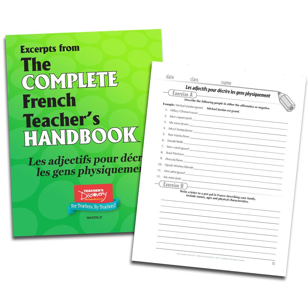 Les adjectifs pour decrire les gens physiquement - French - Book Excerpt Download